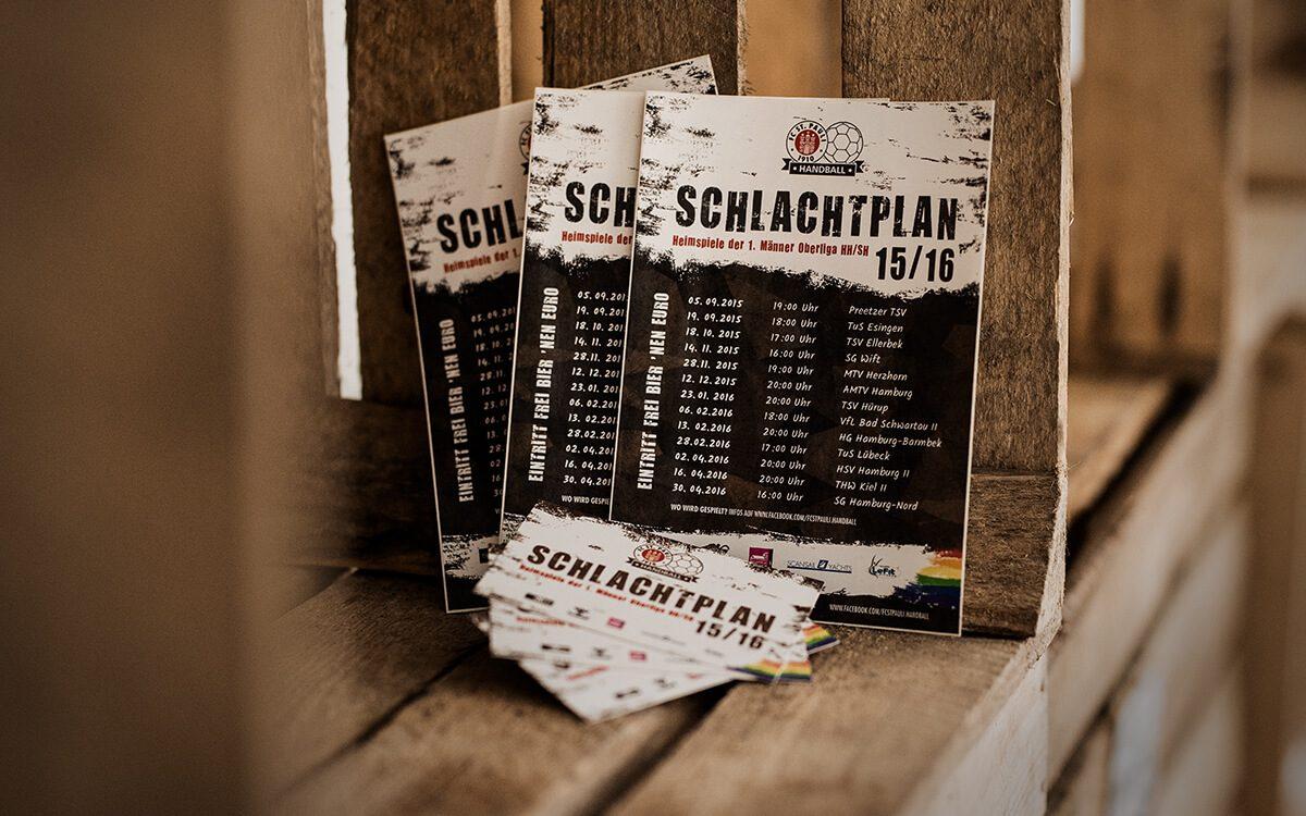 FC St. Pauli Handball - Schlachtplan Saison 15/16