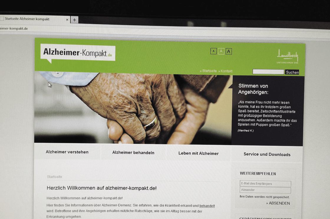 Alzheimer-Kompakt.de - Webseite