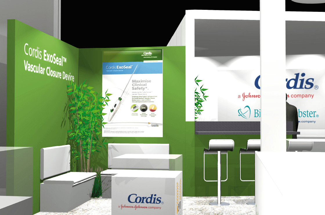 cordis-messestand