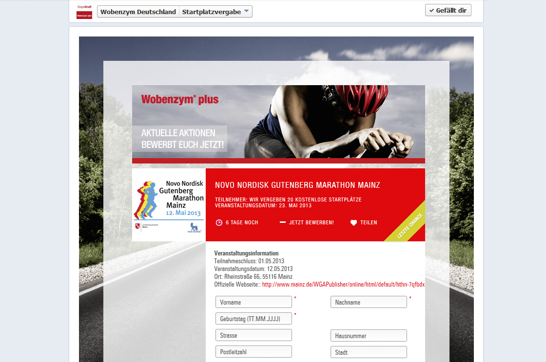Enzymkraft MUCOS Pharma - Enzymkraft Webseite