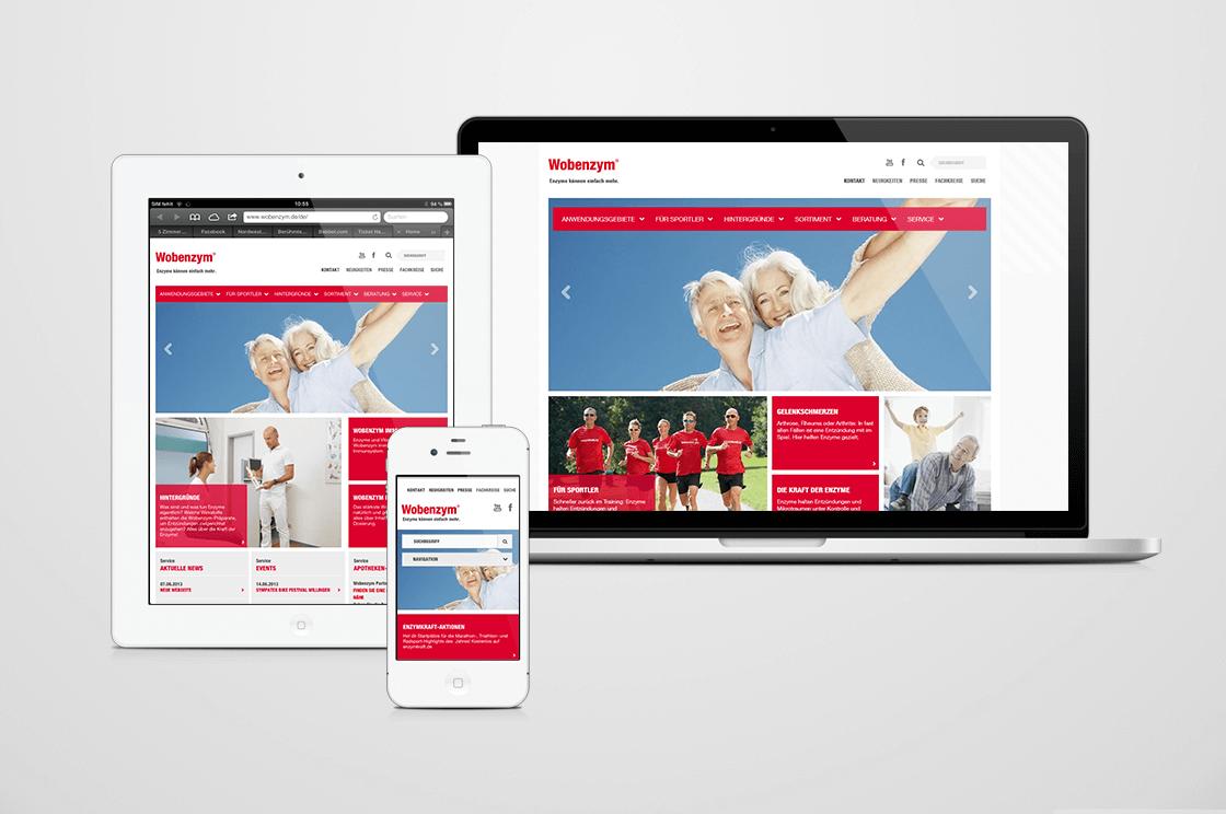 MUCOS Pharma - Produktwebseite-Relaunch in einem responsive Design