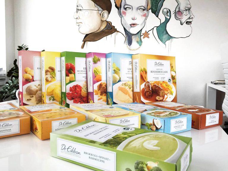 Swiss Medical Food - Dr.Edibon Verpackungen Patientenkampagne
