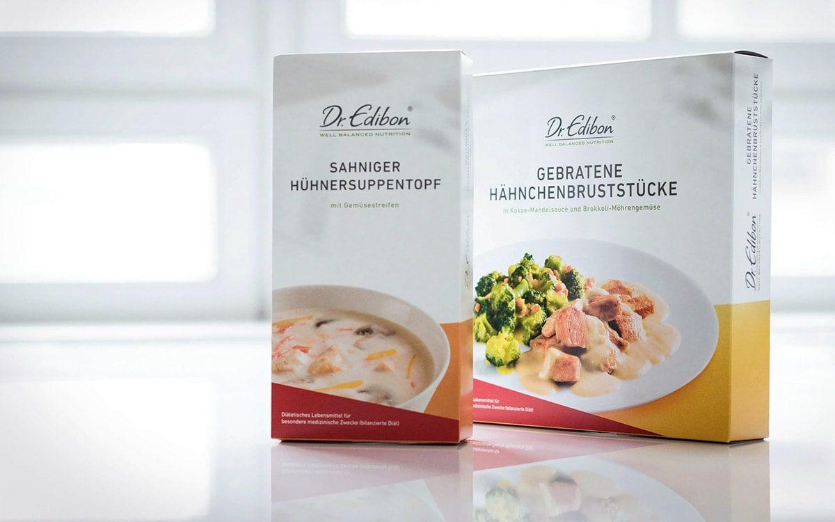Dr. Edibon® - das neue Verpackungsdesign