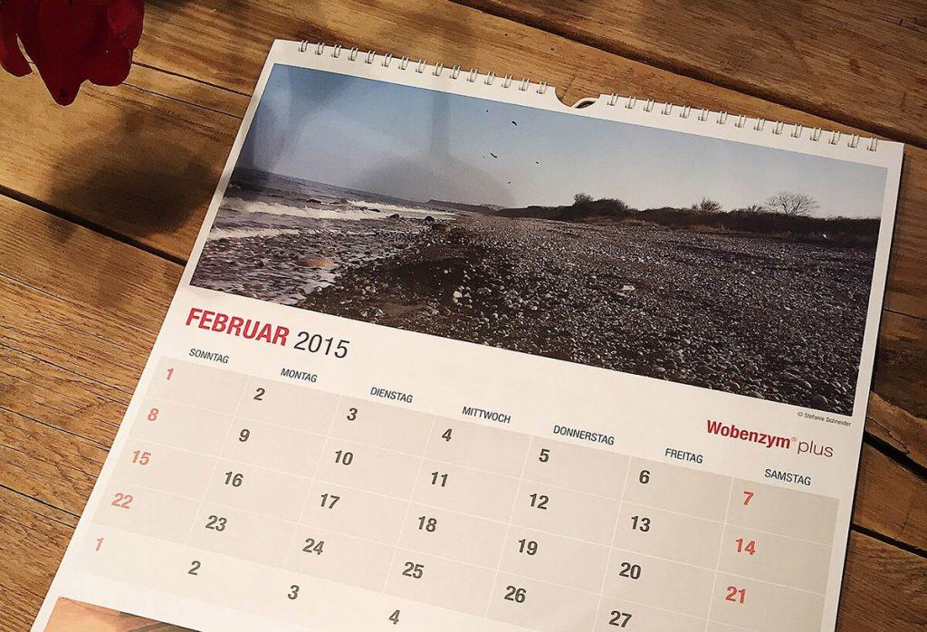 Wobenzym in Bewegung - Wobenzym-Kalender Nahaufnahme