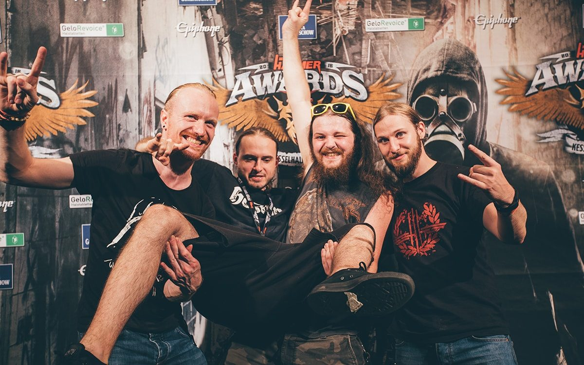 GeloRevoice® - METAL HAMMER Award Shooting einer Band Videoproduktion