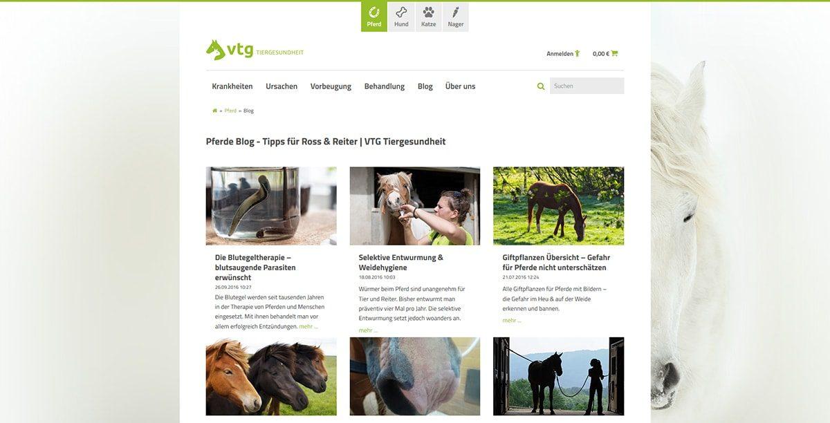 VTG-Tiergesundheit - Blogübersicht